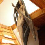 DESÁTÁ MÚZA (socha nese funkční zábradlí)